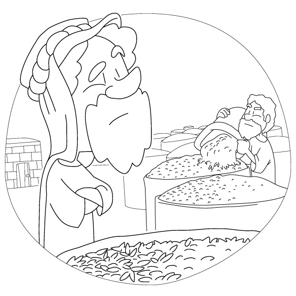 the rich fool coloring page christian the parable of the rich fool 1