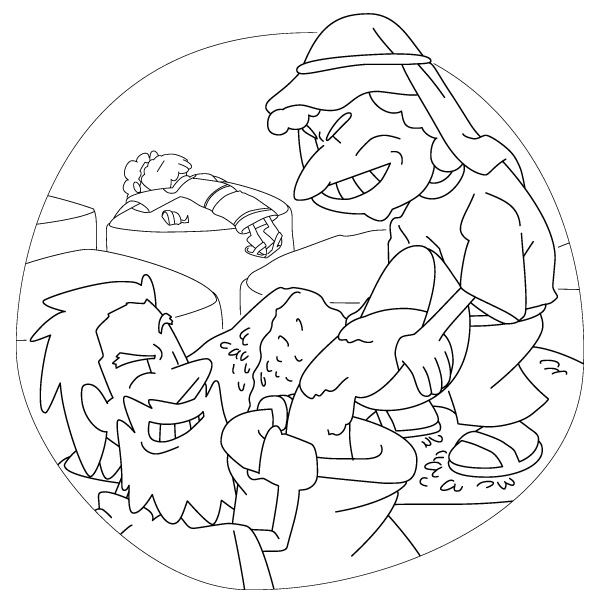 Christian the parable of the rich fool 4 for The rich fool coloring page
