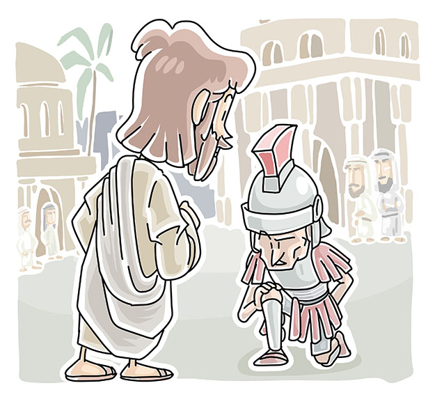 The Faith of a centurion