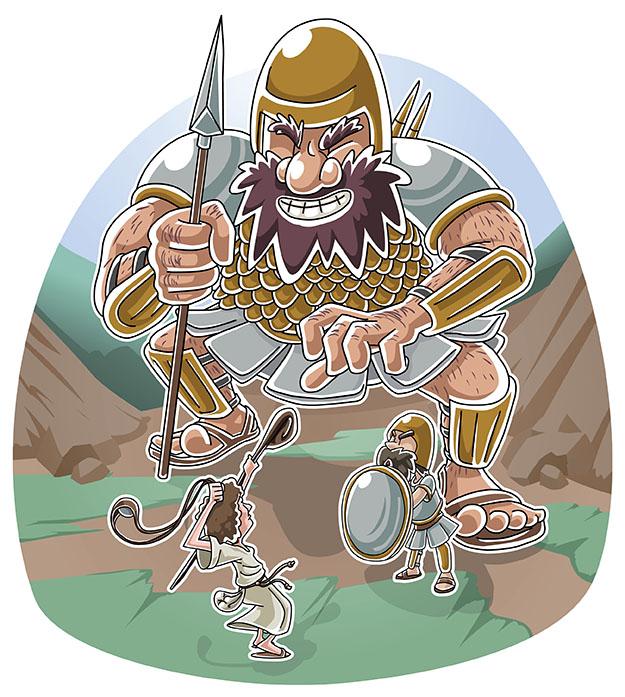 Christian clipArts.net _ David and Goliath  Goliath Clipart