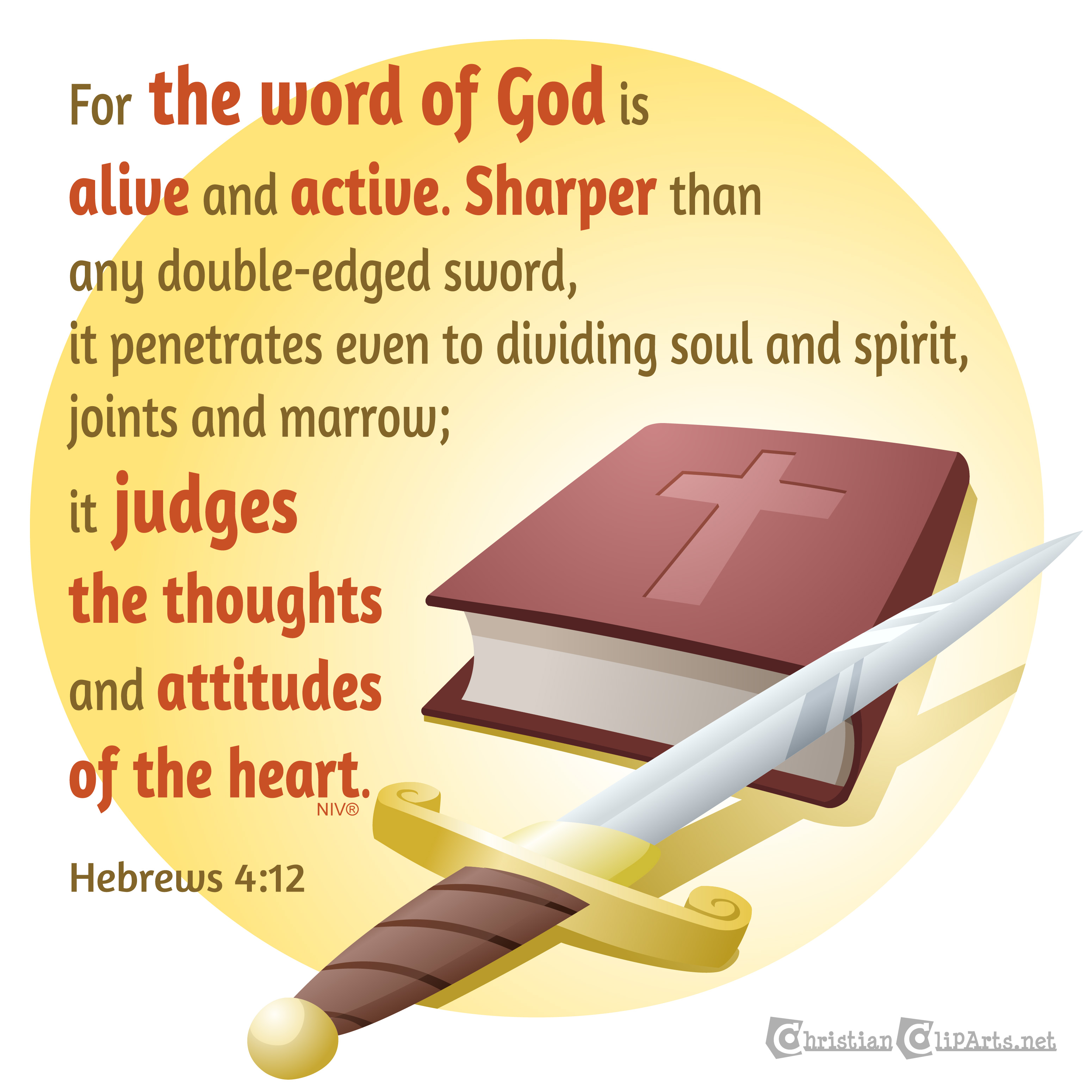 The word of God is living