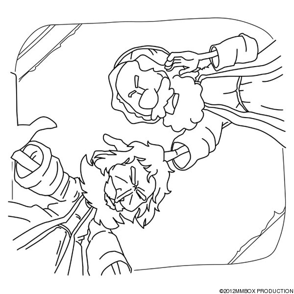 Christian ananias helped saul 39 s conversion for Paul on damascus road coloring page
