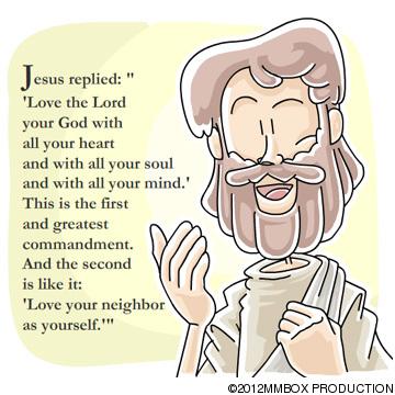 Christian clipArts.net _ The greatest commandment