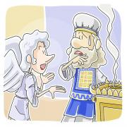 Angel Gabriel appeared to Zechariah